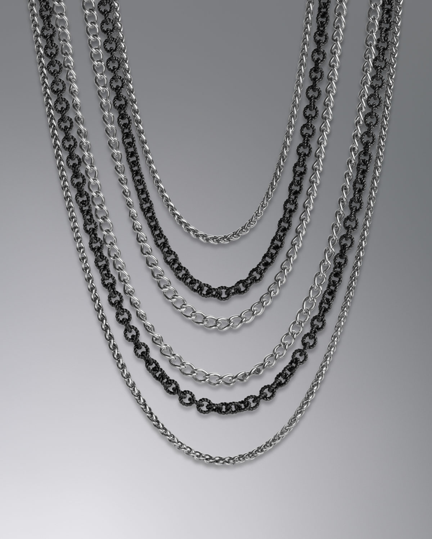 david yurman multi chain necklace