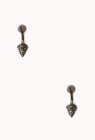 forever 21 pretty tough spike earrings