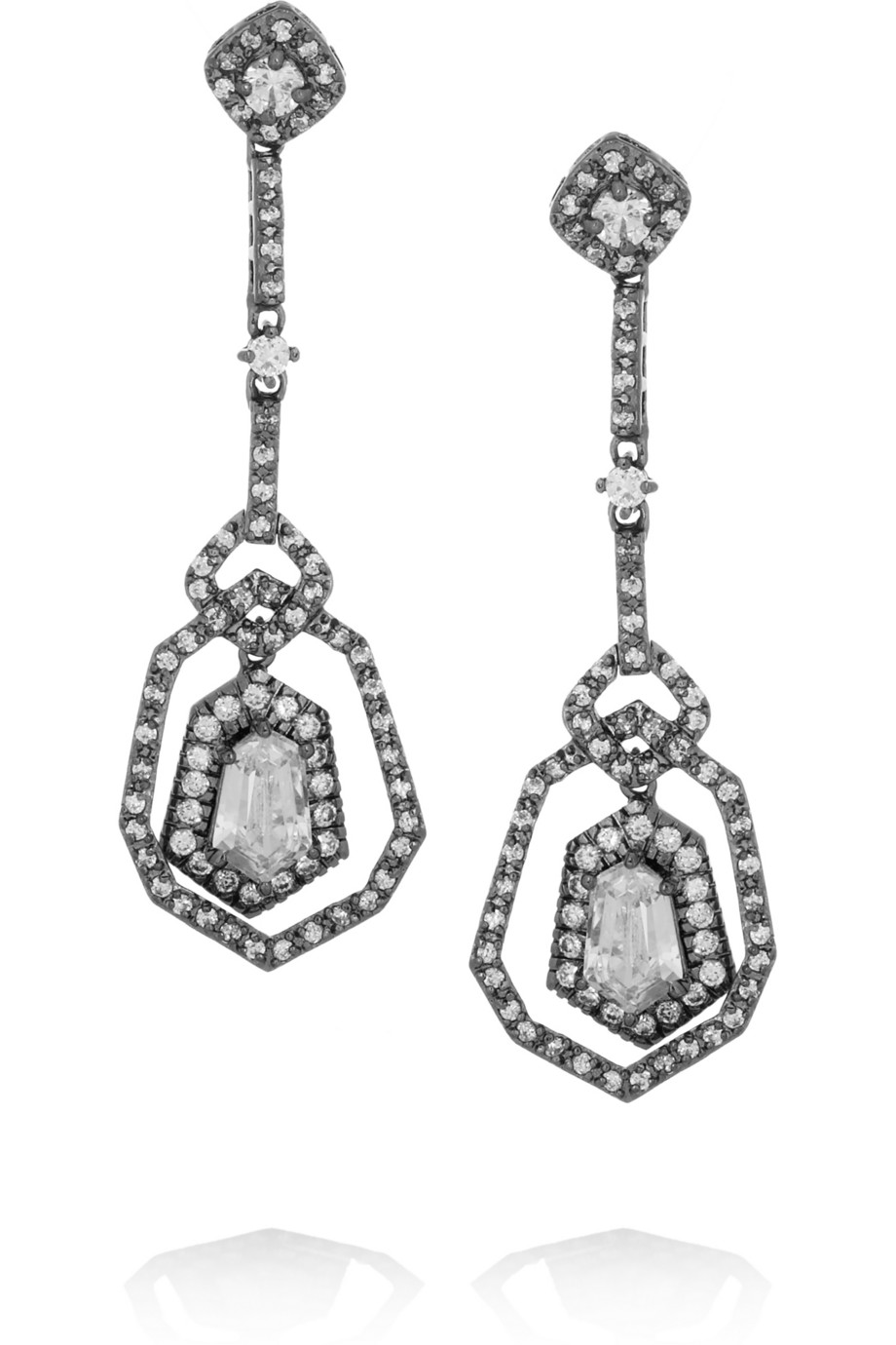KJL drop earrings