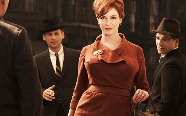 joan brooch brown suit mad men final