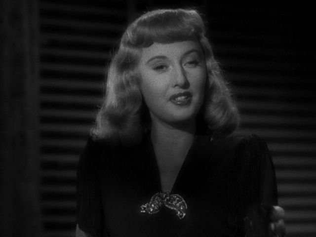 black dress 5 + Double Indemnity + Barbara Stanwyck + Fred McMurray + Edith Head