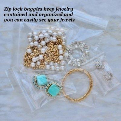 zip lock baggies