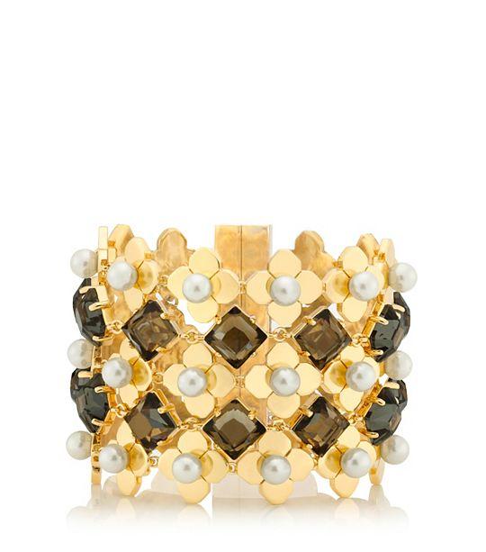 babylon mesh cuff bracelet