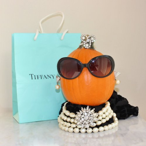 breakfast at tiffany holly golightly pumpkin