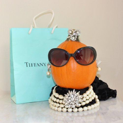 breakfast at tiffany holly golightly pumpkin