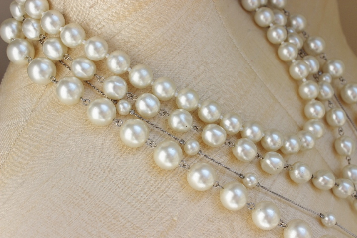 New Jewels In The Store! Pearl Statement Necklace