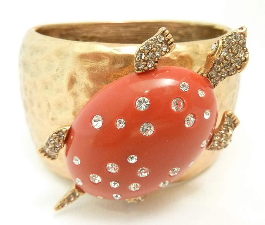 turtle cuff bracelet 1stdibs