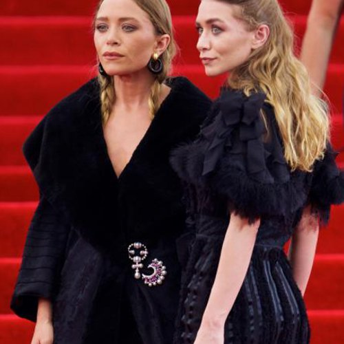 mary kate and ashley olsen olsen twins met gala
