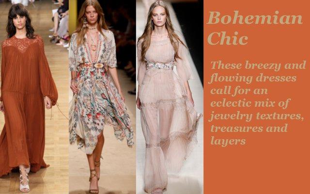 boho chic models