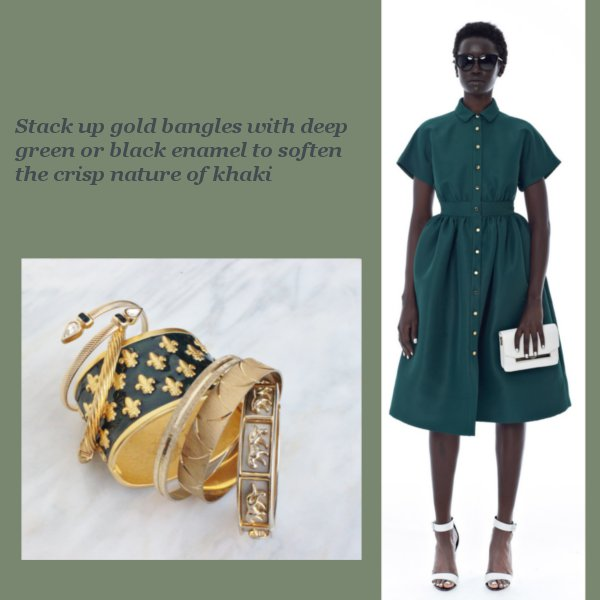 Color Trend: Khaki – And The Jewelry That Looks Best With It
