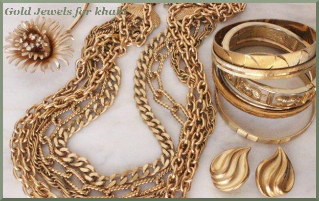 khaki jewels