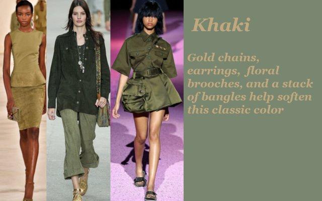 khaki models