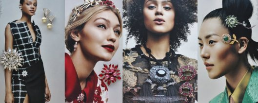 fall trends from July vogue brooches
